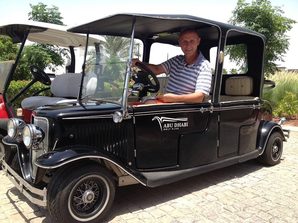 Golf, Golf Car, Leisure, Travel, Golfer