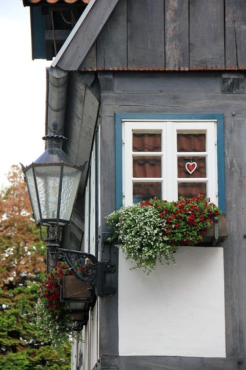 Lantern, Building, Truss, Window, Lemgo