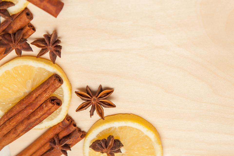 Cinnamon, Lemon, Anise, Seasonings, Spices, Aroma