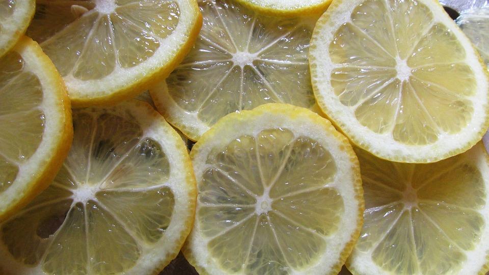 Lemon Slices, Citrus, Fruit, Organic