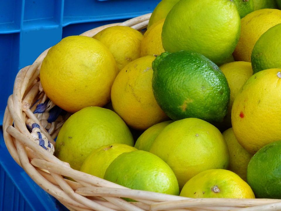 Citrus Fruits, Vitamins, Fruit, Healthy, Lemon
