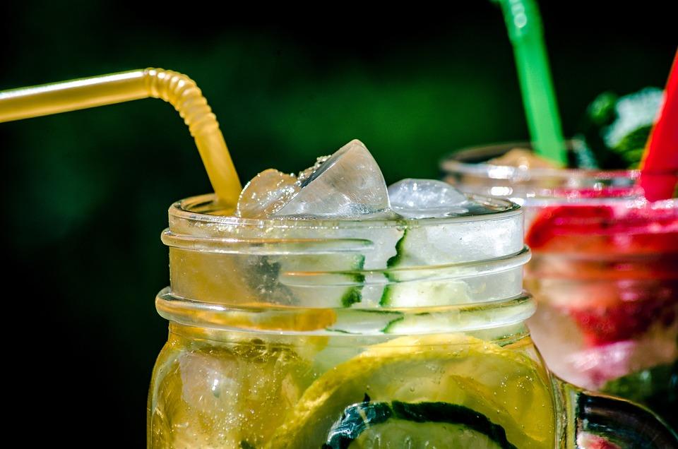 Summer, Heat, Grass, Yellow, Photo, Lemonade, Fruit