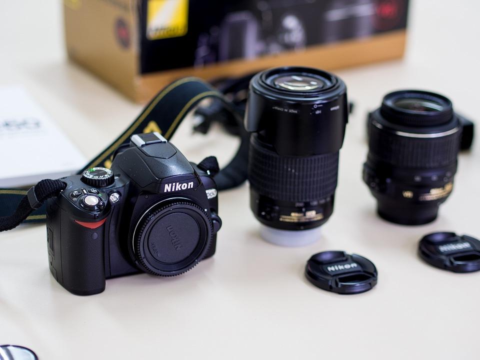 Lens, Objective, Camera, Nikon, D60