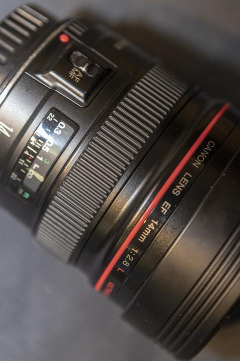 Lens, Camera, Zoom, Digital, Professional