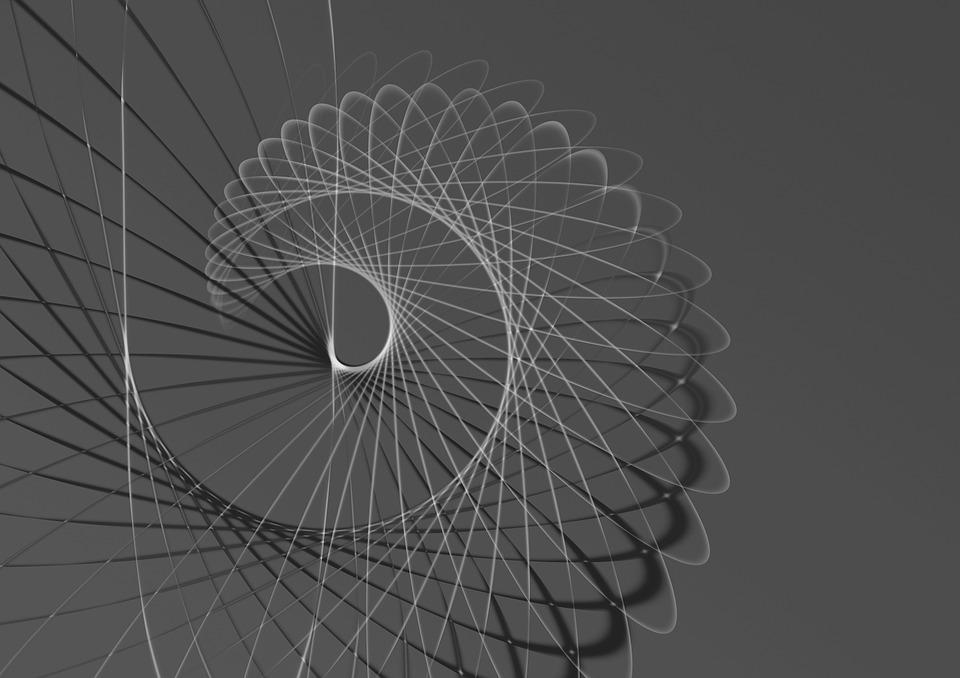 Spiral, Endless, Image Editing, Lens Flare, Light