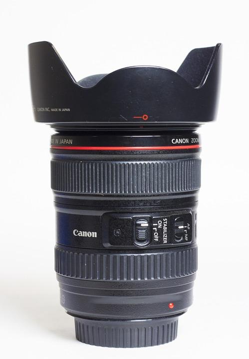 Canon, Lens, Lens Hood, Lens Cap, Serie L, 24-105