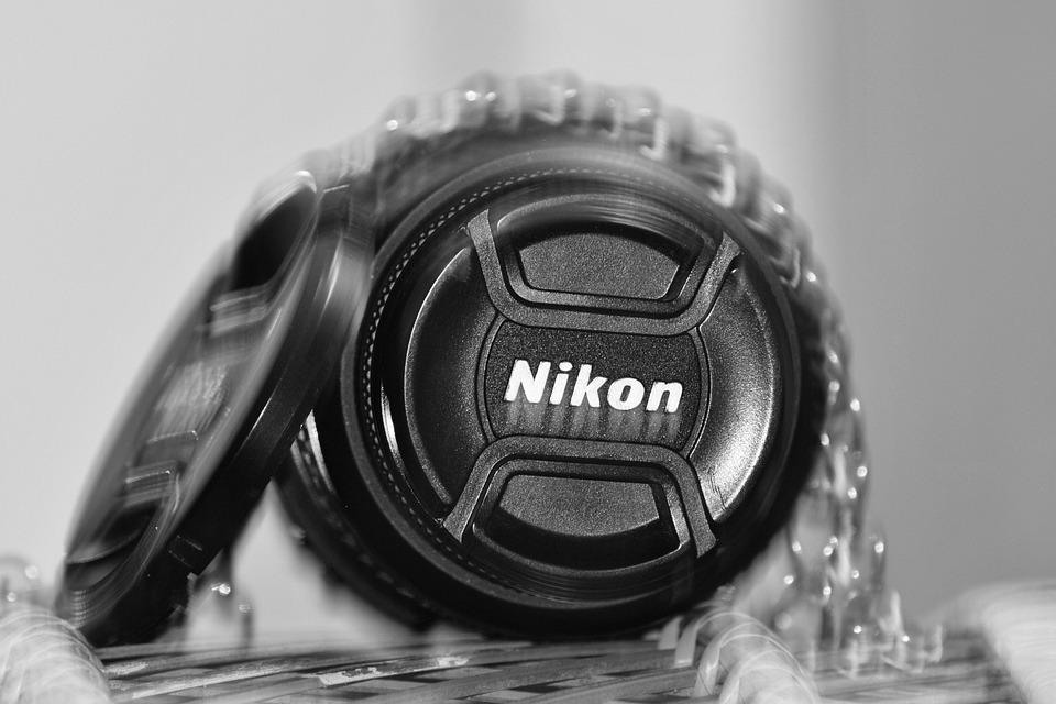 Nikon, Nikon Lens, Lens, Camera, Lens Cap, Grey