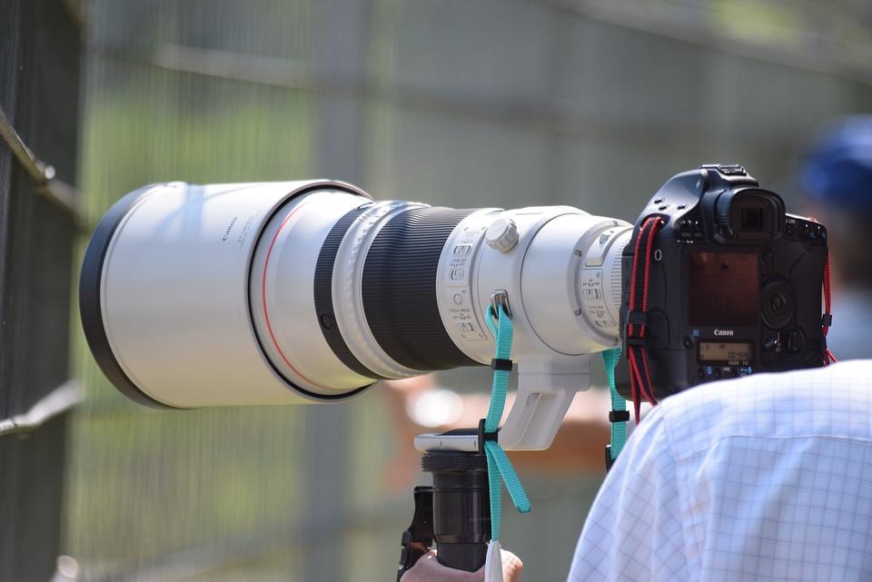 Camera, Photographer, Lens, Equipment, Digital