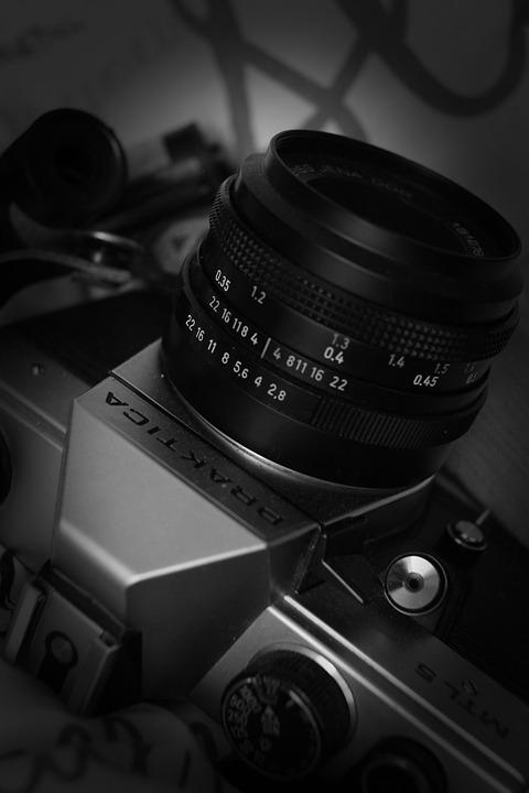 Camera, Praktica, Film, Lens, 35mm Film, Analog