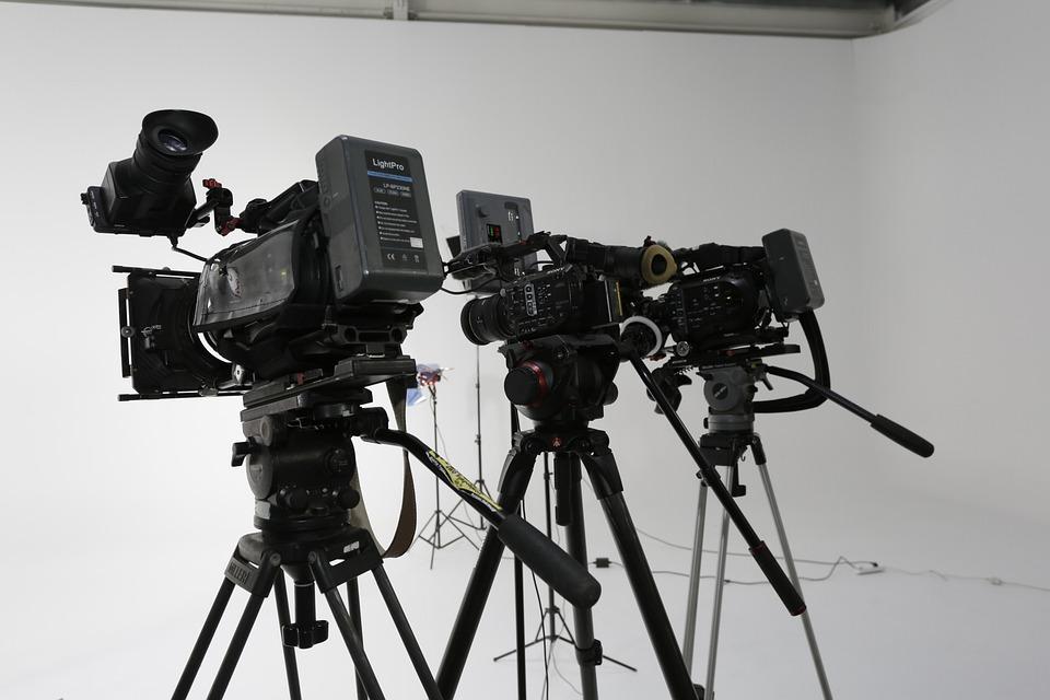 Tripod, Lens, Movie, Technology, Camcorder, Studio