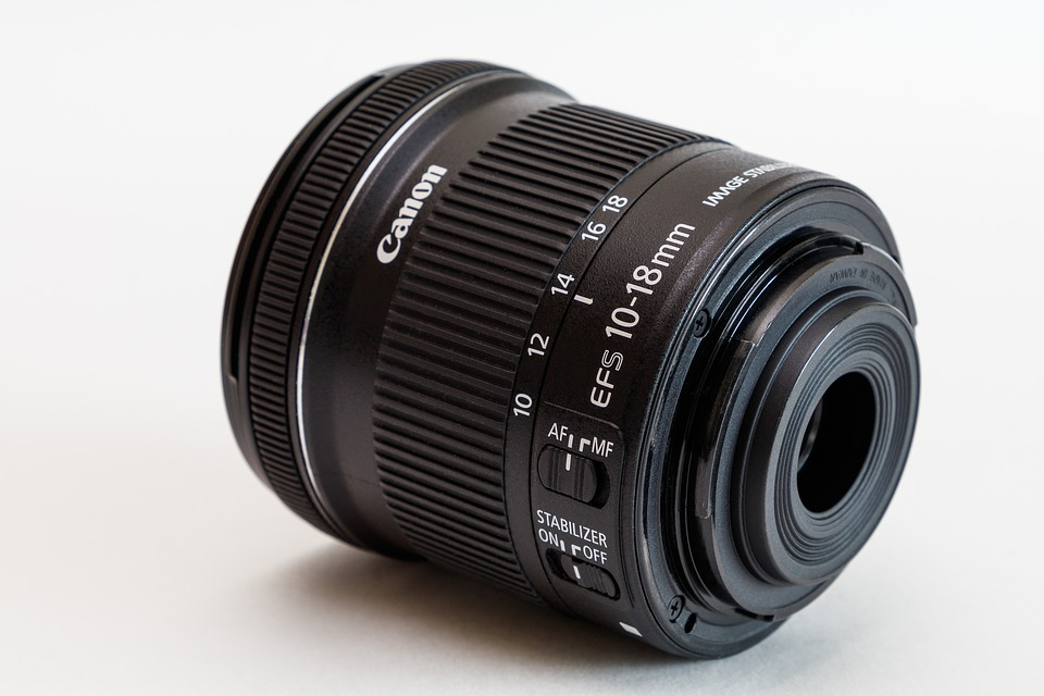Lens, Canon, Zoom Lens Ef-s 10-18mm, Optics, Zoom