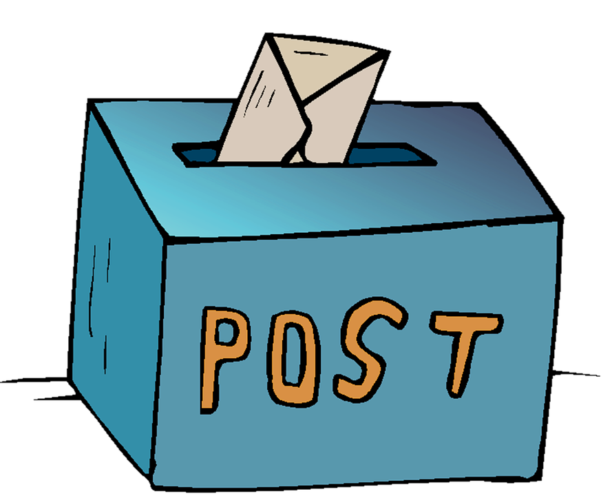 Post, Box, Package, Cardboard, Letter, Correspondence