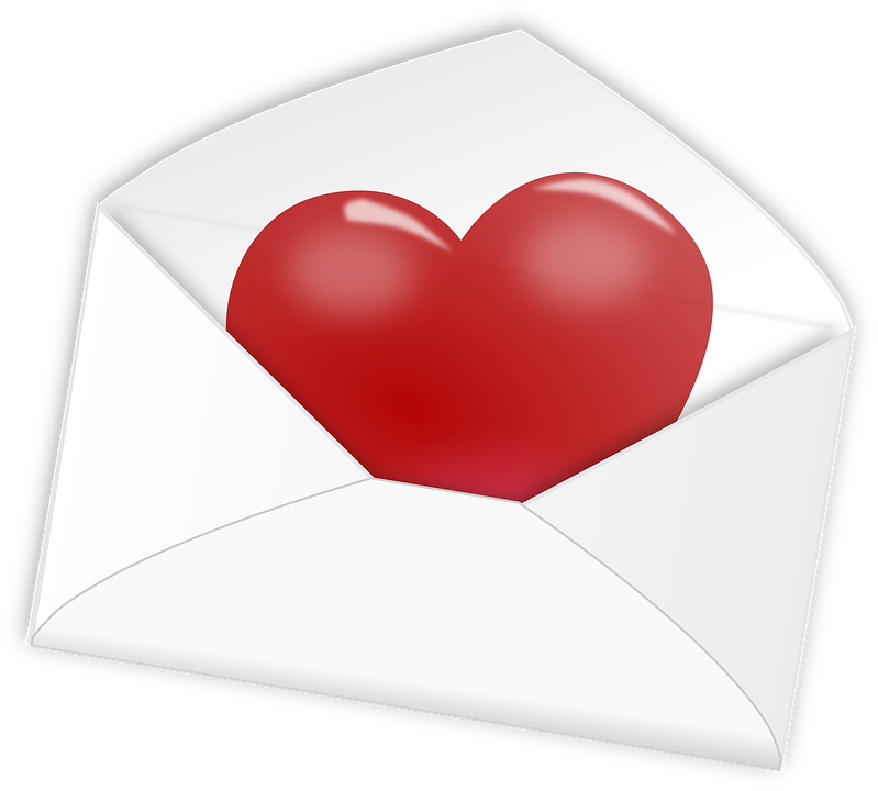 Free photo Letter Heart Mail Love Valentine Romantic  Max Pixel