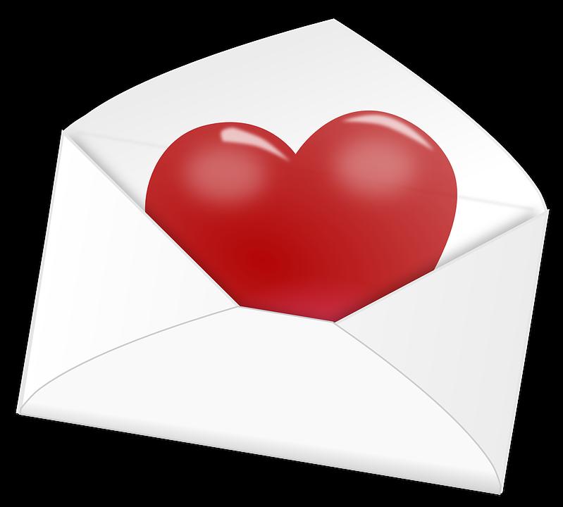 Heart, Letter, Love, Mail, Valentine, Romantic