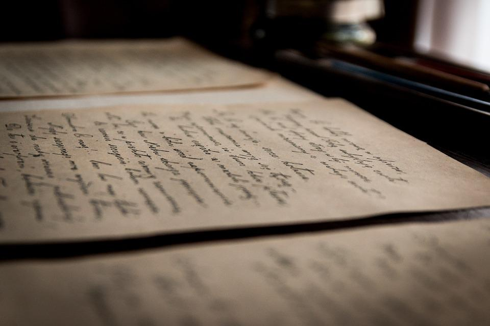 Old Letters, Old, Letter, Handwriting, Library