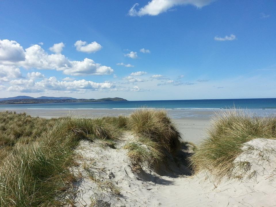 Beach, Letter Mac Award, Donegal, Ireland