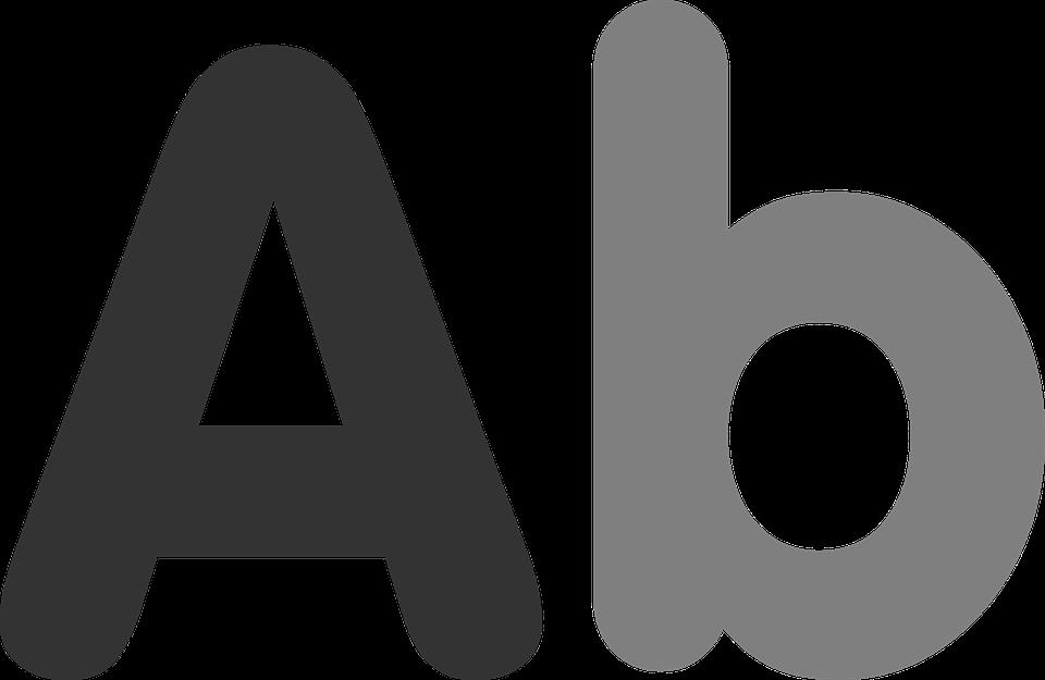 Letters, Letter, Symbol, Icon