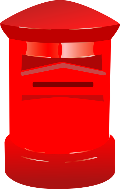 Letterbox, Postbox, Red, Letter Box, Post Box, Mail