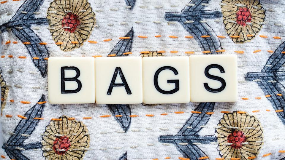 Bags, Letters, Sign, Fabric, Art, Fashion, Sustainable
