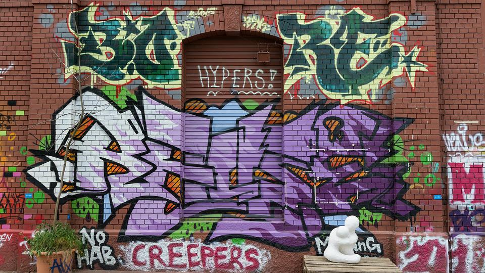 Graffiti, Letters, Text, Font, Purple, Decoration
