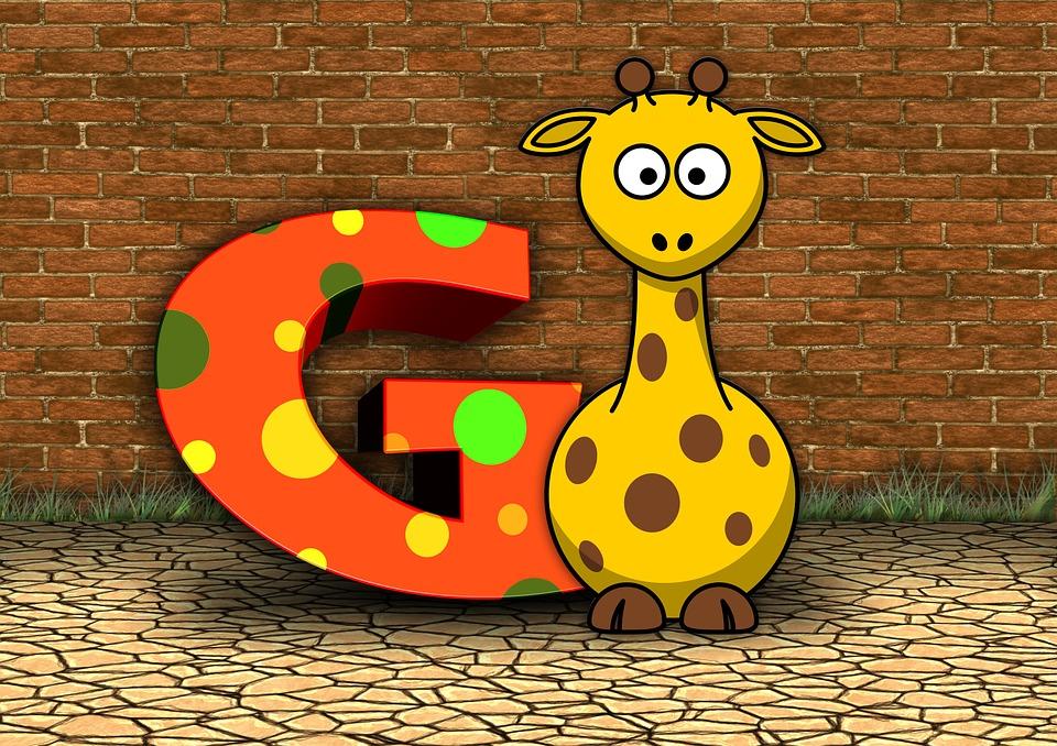 Letters, Abc, Education, Giraffe, Alphabet, Literacy