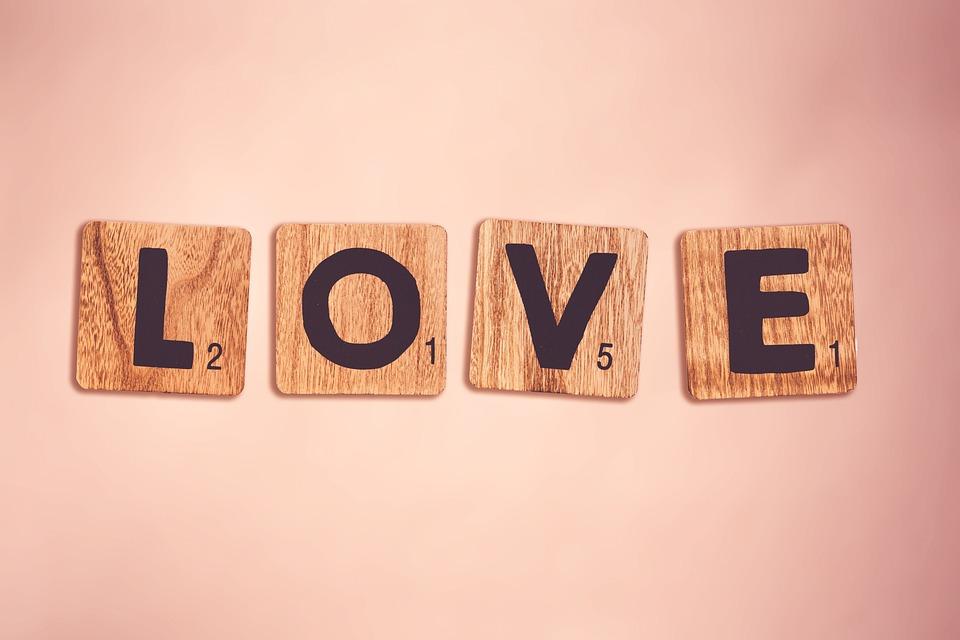 Love, Pink, Letters, School, Word, Luck, Romantic