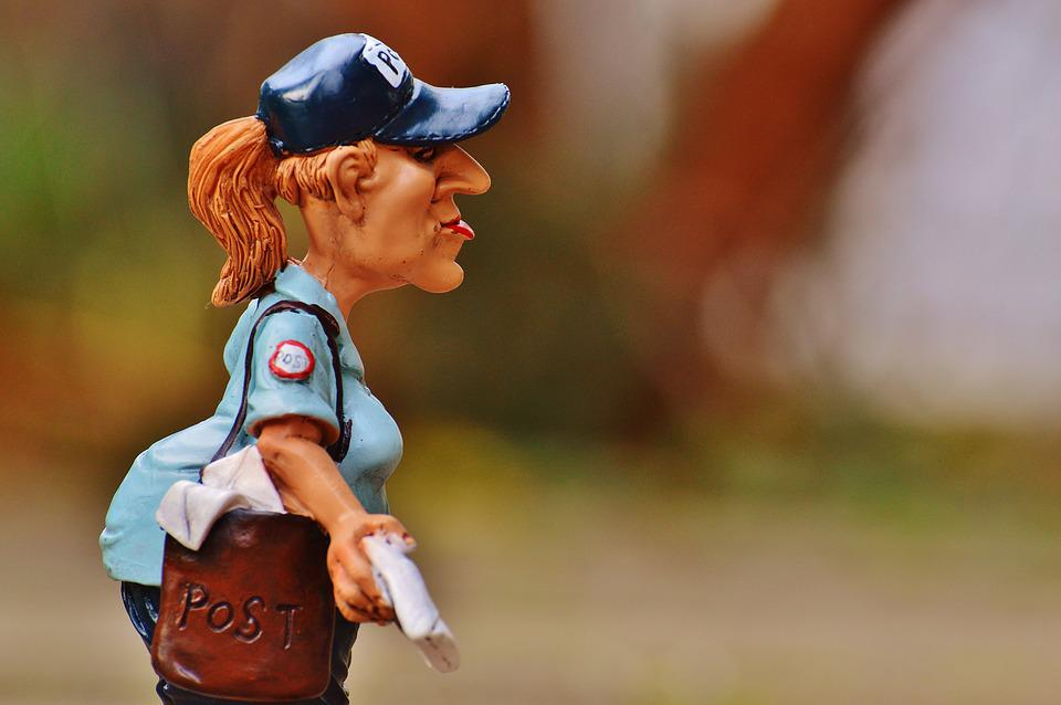 Mailwoman, Civil Servant, Letters, Places To, Delivery