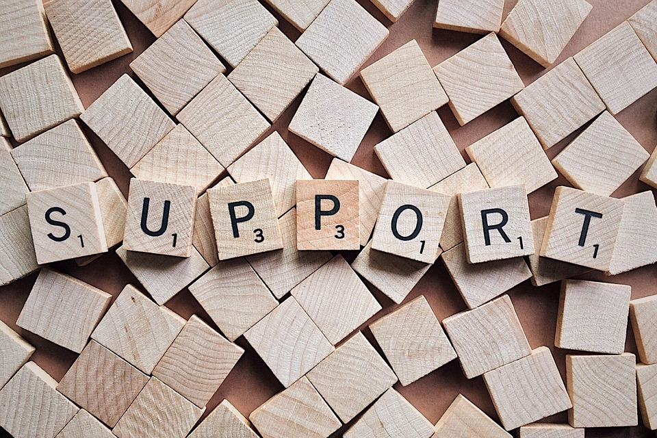 Support, Letters, Scrabble, Help, Service, Customer