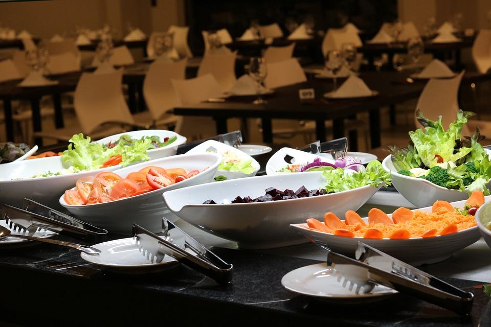 Salad, Dish, Meal, Healthy, Lettuce, Vegetables