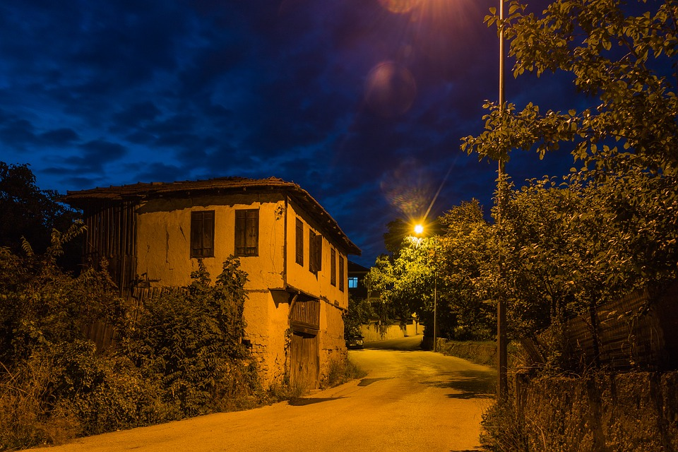 Safranbolu, Mounts, Night, Levied Smelly Streets, Date