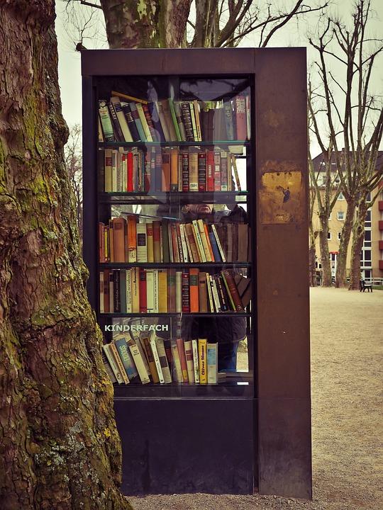 Bookcase, Books, Read, Book, Literature, Library, Used