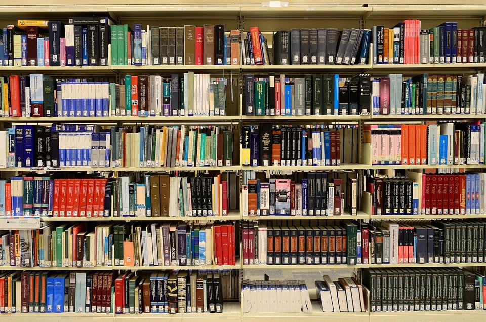 Library, Books, Knowledge, Information, Bookshelves
