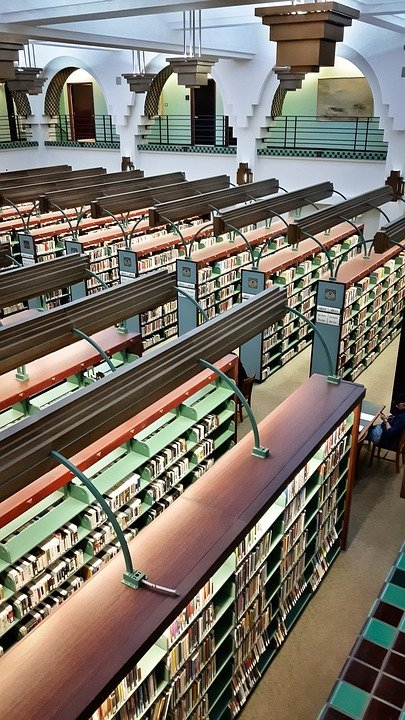 Library, Books, Literature, Education, Shelf, Book