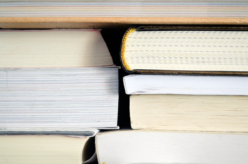 Books, Pile, Study, Leaves, Literature, Library, Stack