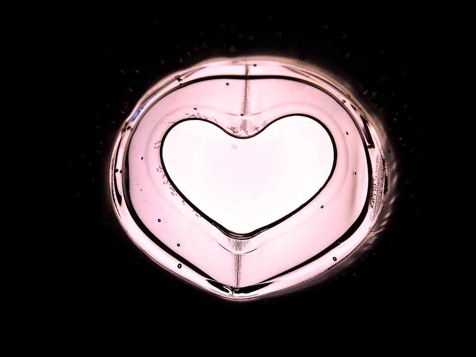 Art, Heart, Heart Shape, Pink, Lichtspiel, Welcome