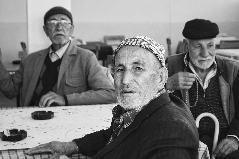 Old, Life, Coffee, Grandfather
