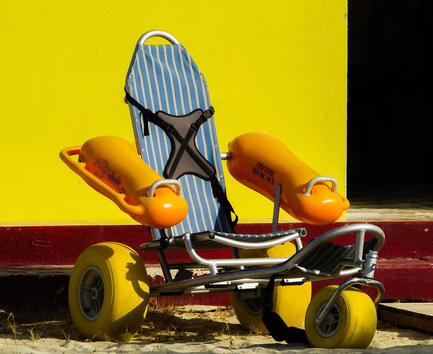 Floating Wheelchair, Equipment, Lifeguard