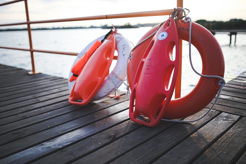 Safety, Bouy, Lifeguard, Lake, Summer, Vacation