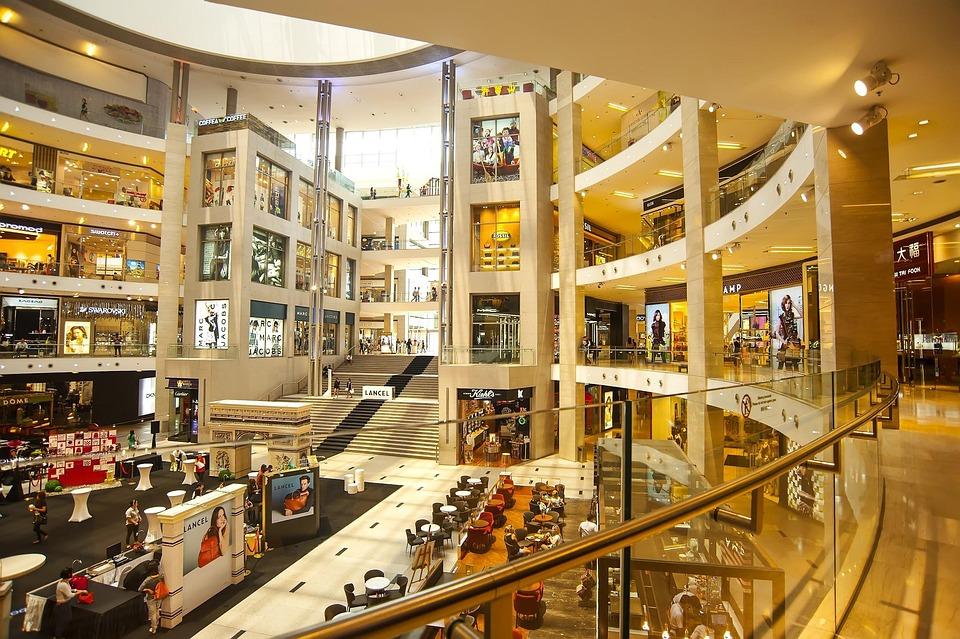 Big, Mall, Space, Shopping, Lifestyle, Fashion
