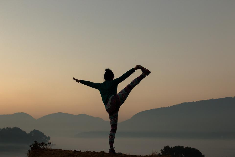 Yoga, Travel, Nature, Sunrise, Lifestyle, Meditation