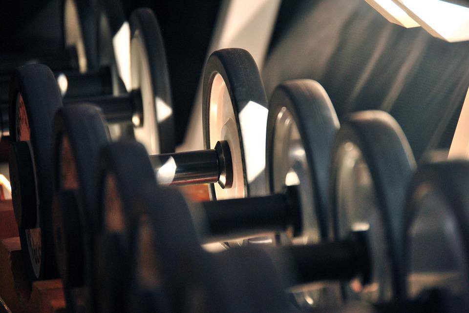 Gym, Fitness, Workout, Dumbbell, Lifting, Weight