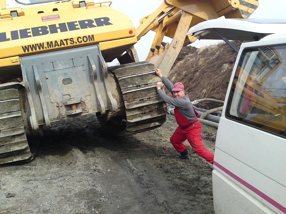 Crane, Lifting, Work