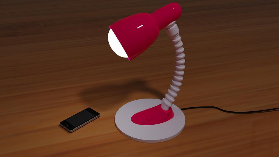 Electricity, Lamp, Light, 3d