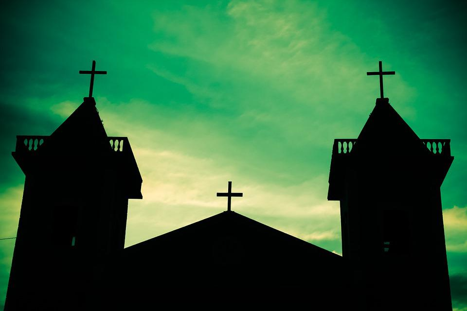 Church, Light And Shadow, Architecture