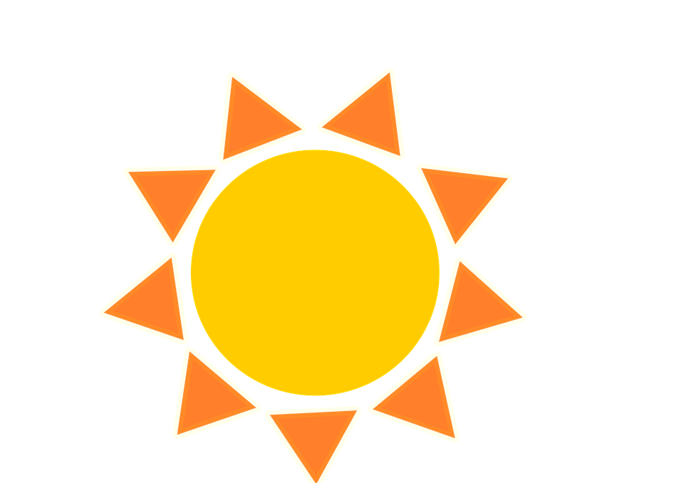 Sun, Summer, Beach, Yellow, Light, Solar, Nature