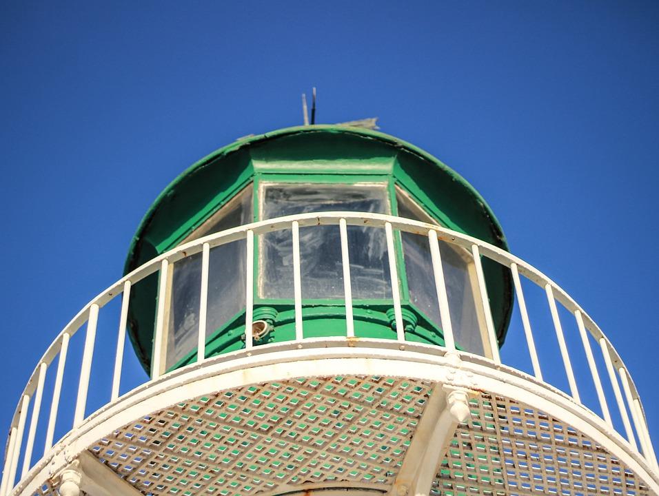 Lighthouse, Beacon, Port Burgas, Bulgaria, Light, Sea