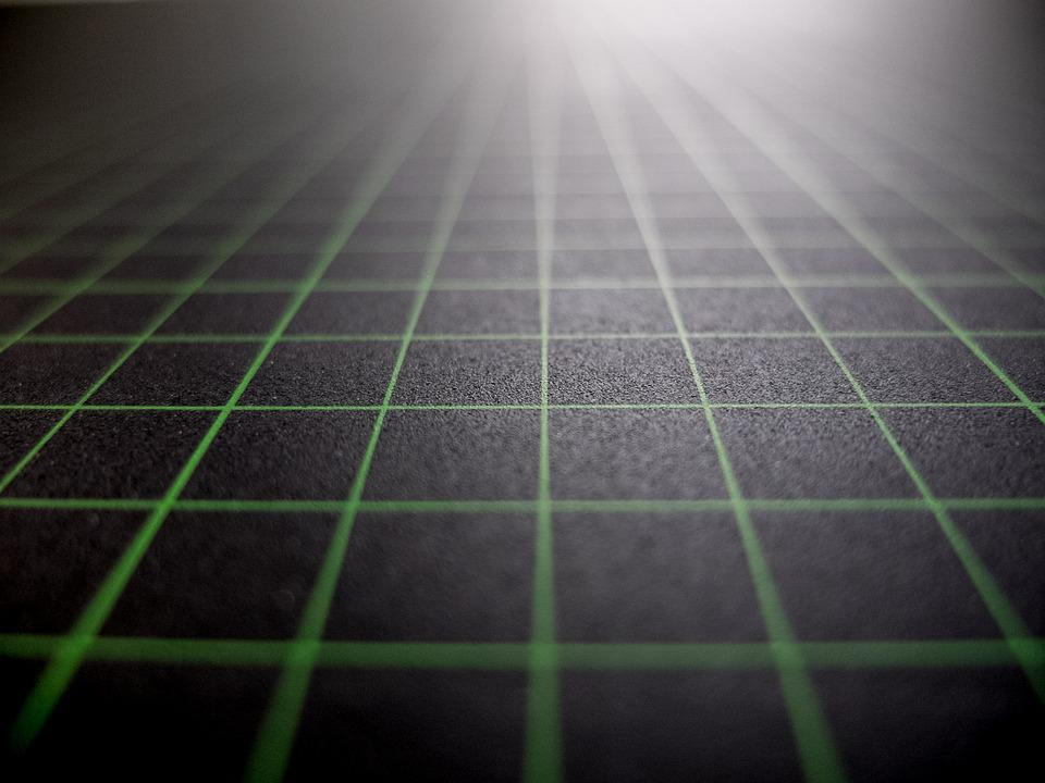 Background, Light, Diamonds, Checkered, Perspective