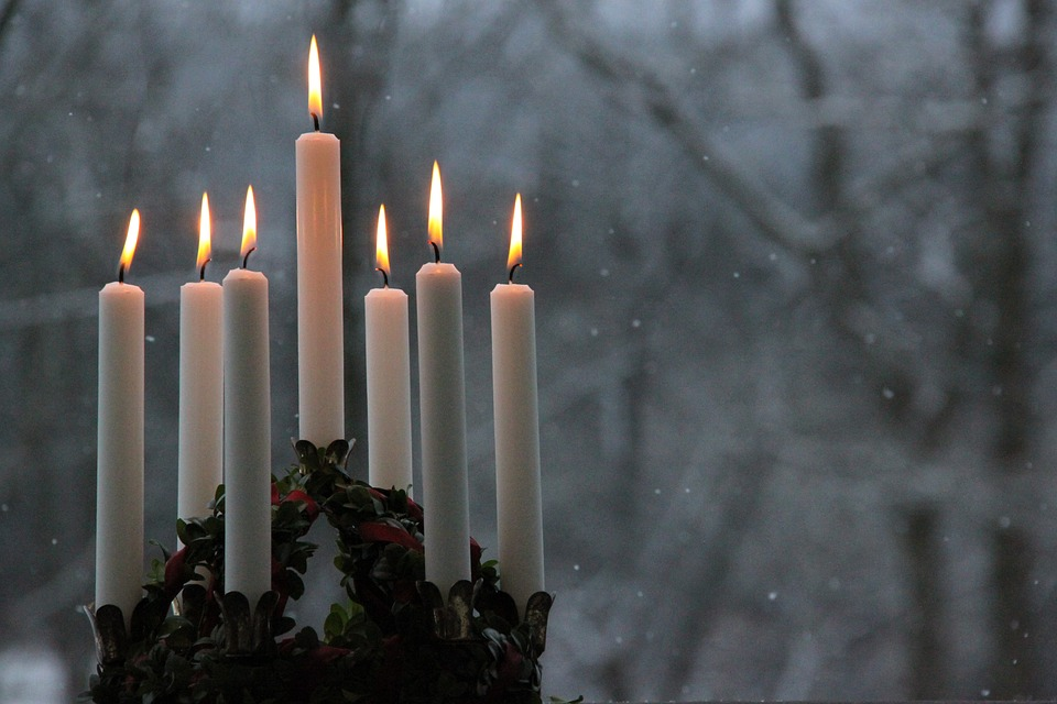 Lucia, Lucia Festival, Lucia Crown, Light, Christmas