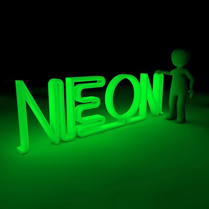 Neon, Color, Light, Neon Colors, Luminosity