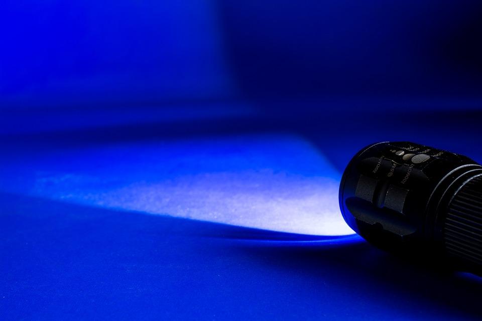Light Cone, Glow, Light, Flashlight